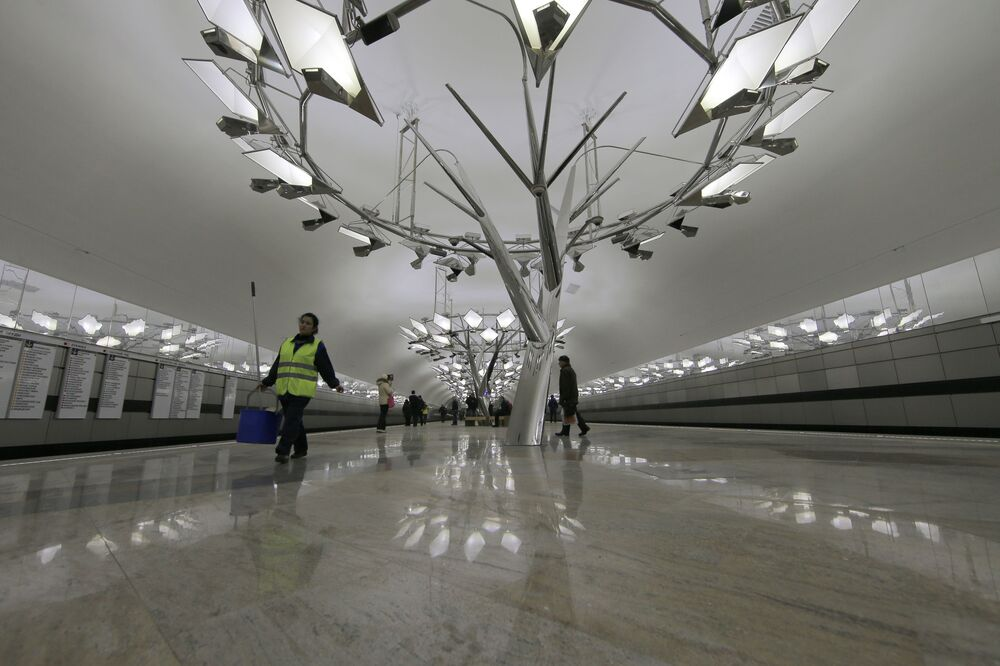 World's Most Beautiful Underground: Moscow Metro Celebrates 84th Anniversary