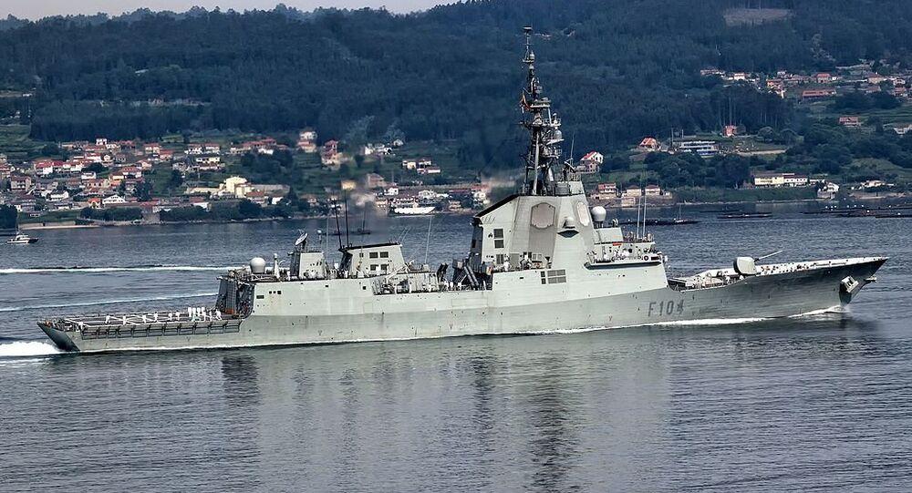 Mendez Nunez frigate