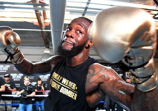 WBC Heavyweight Champion Deontay Wilder