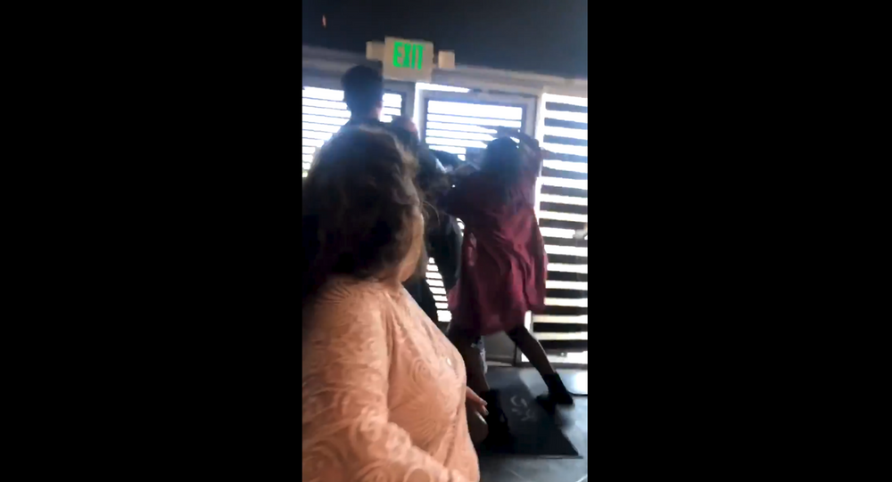 Brawl erupts at California sushi restaurant after man has racist outburst
