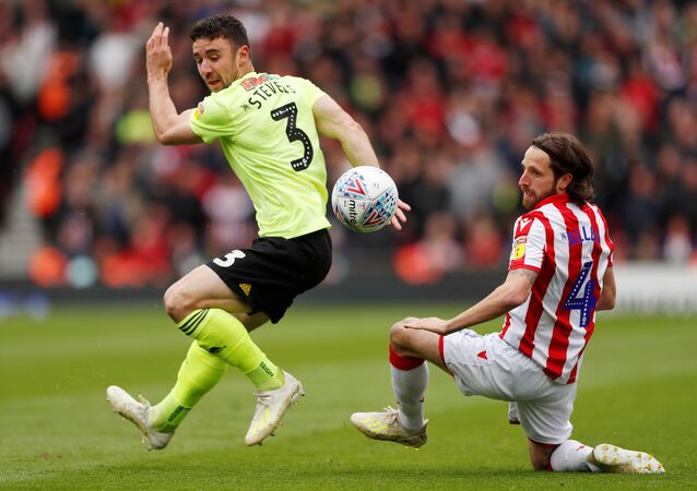 Soccer Football - Championship - Stoke City v Sheffield United - bet365 Stadium, Stoke-on-Trent, Britain - May 5, 2019