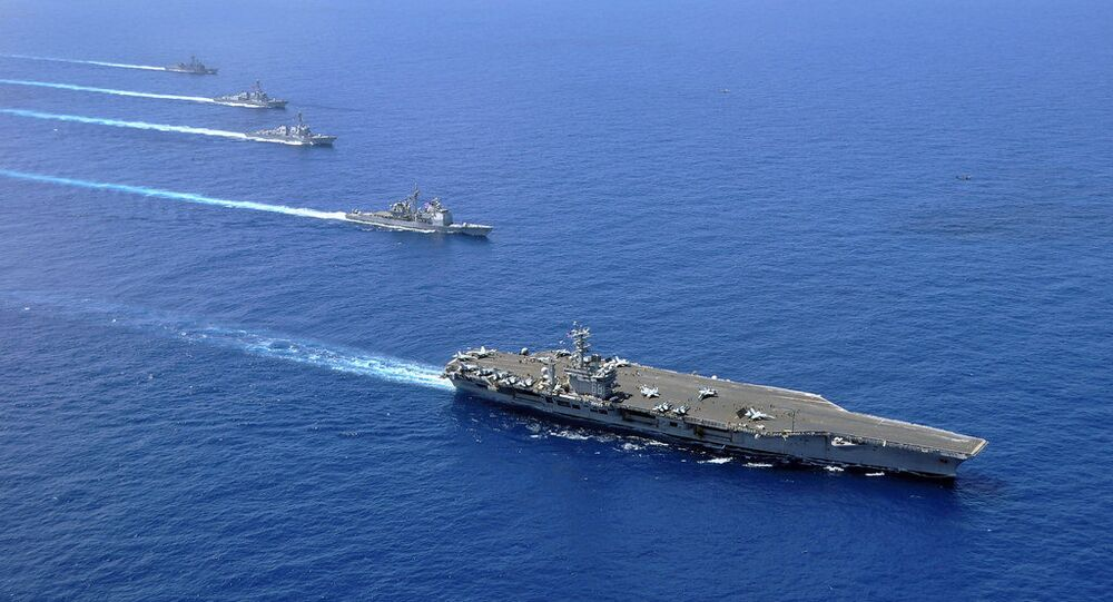 Beijing rejects Pentagon's criticism of military drills in S. China Sea