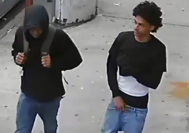 New York Police Department on the lookout for two individuals linked to Walton Park basketball court shooting in the New York City's Bronx borough.