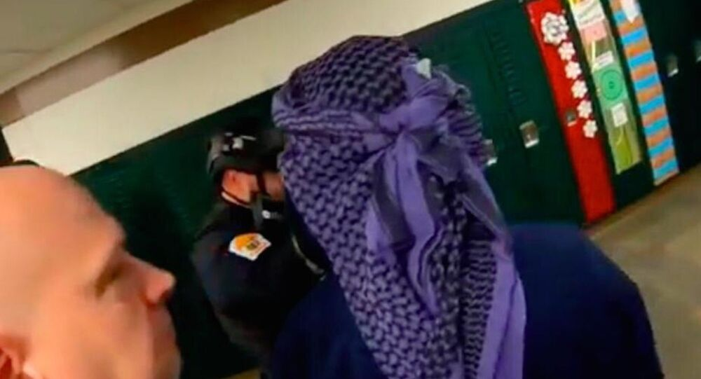 A screengrab of the video provided by Penn-Trafford School District