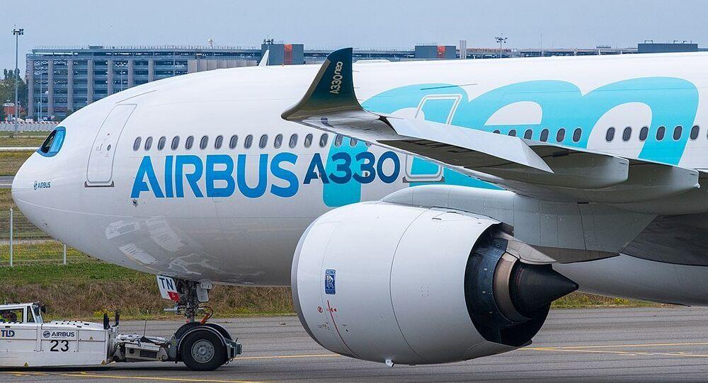 Airbus A330neo aircraft
