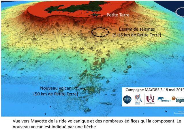 Baby Volcano near Mayotte, Africa @RLacassin
