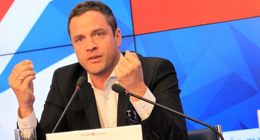 Freedom Party of Austria (FPO) Ex-Deputy Chairman Johann Gudenus