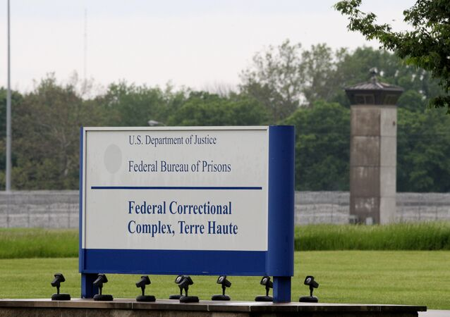 TERRE HAUTE, IN - MAY 23: View of the Terre Haute Federal Correctional Complex where American Taliban John Walker Lindh served time for fighting with the Afghan Taliban, May 23, 2019 in Terre Haute, Indiana.Lindh was the first US-born detainee in the war on terror served 17 years of a 20-year sentence where he pleaded guilty to fighting alongside the Taliban.