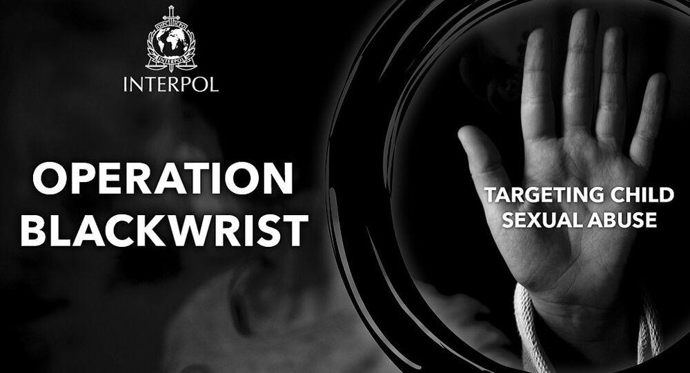 Interpol: Operation Blackwrist, targeting child sexual abuse
