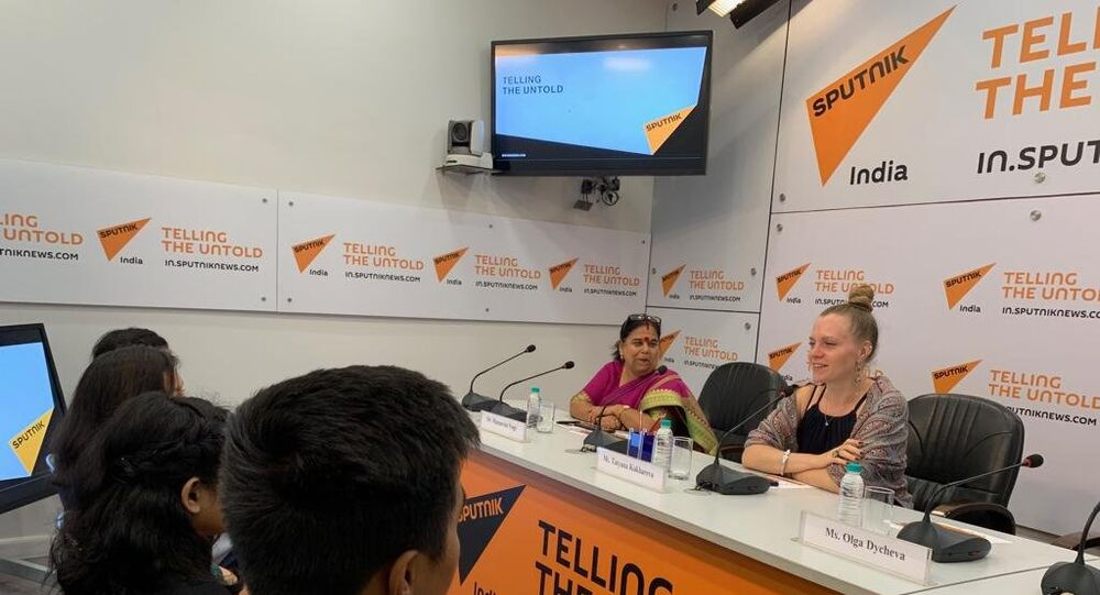 SputnikPro holds in-person session for young journalists in New Delhi