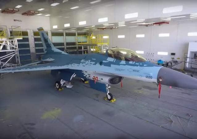 F-16 GHOST - Aggressor Squadron Mimicking Russian Su-57 Paint