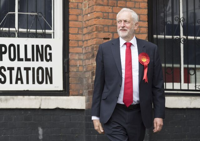 Jeremy Corbyn, the leader of the UK opposition Labour Party