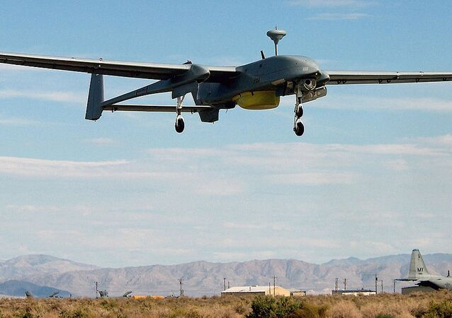 IAI Heron 1 UAV in flight