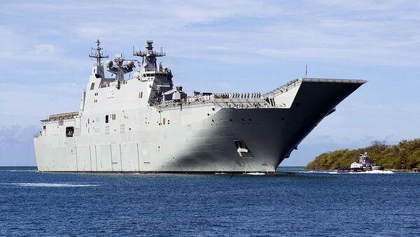 HMAS Canberra - Sputnik International