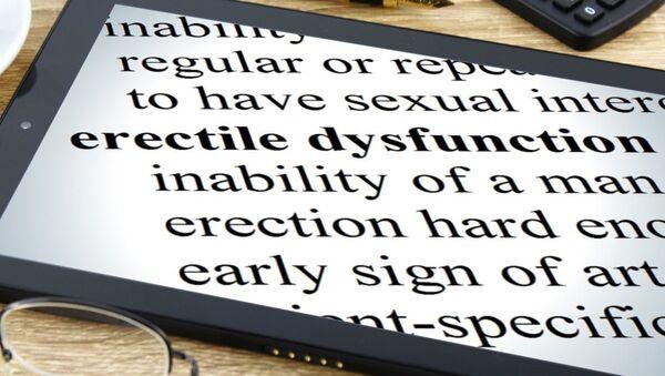 Erectile dysfunction - Sputnik International