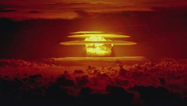 Castle Bravo nuclear test - Sputnik International