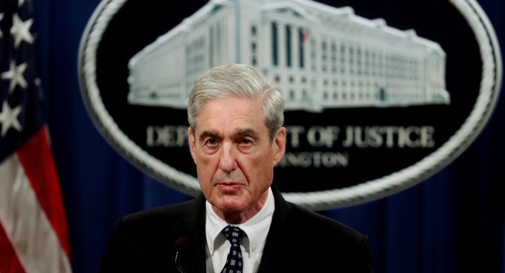U.S. Special Counsel Robert Mueller makes a statement on his investigation into Russian interference in the 2016 U.S. presidential election at the Justice Department in Washington, U.S., May 29, 2019. RE