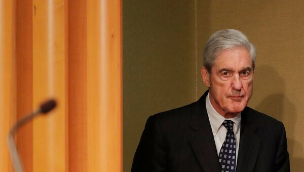 US Special Counsel Robert Mueller arrives to make his first public comments on his investigation into Russian interference in the 2016 US presidential election - Sputnik International
