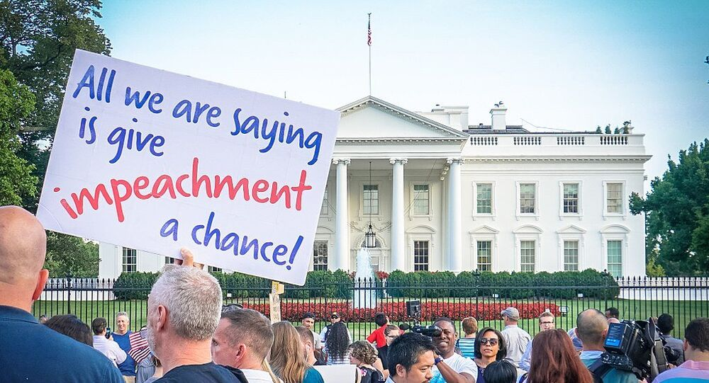 Protest Trans Military Ban, White House, Washington, DC USA