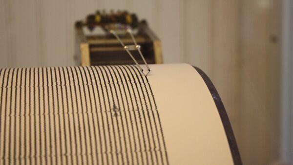 Seismograph, San Juan Bautista Mission - Sputnik International