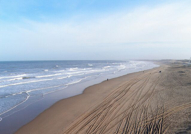 North Sea coast, Netherlands