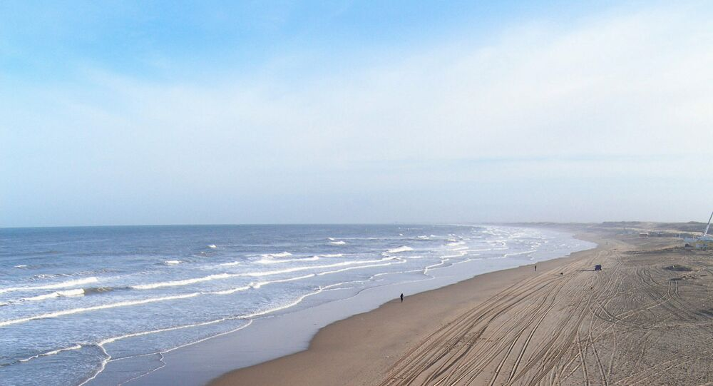 North Sea coast, Netherlands