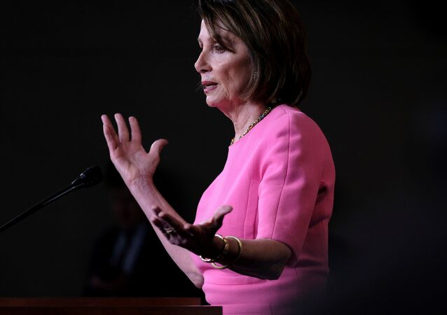 U.S. House Speaker Nancy Pelosi (D-CA) holds her weekly news conference with Capitol Hill reporters in Washington, U.S., May 23, 2019