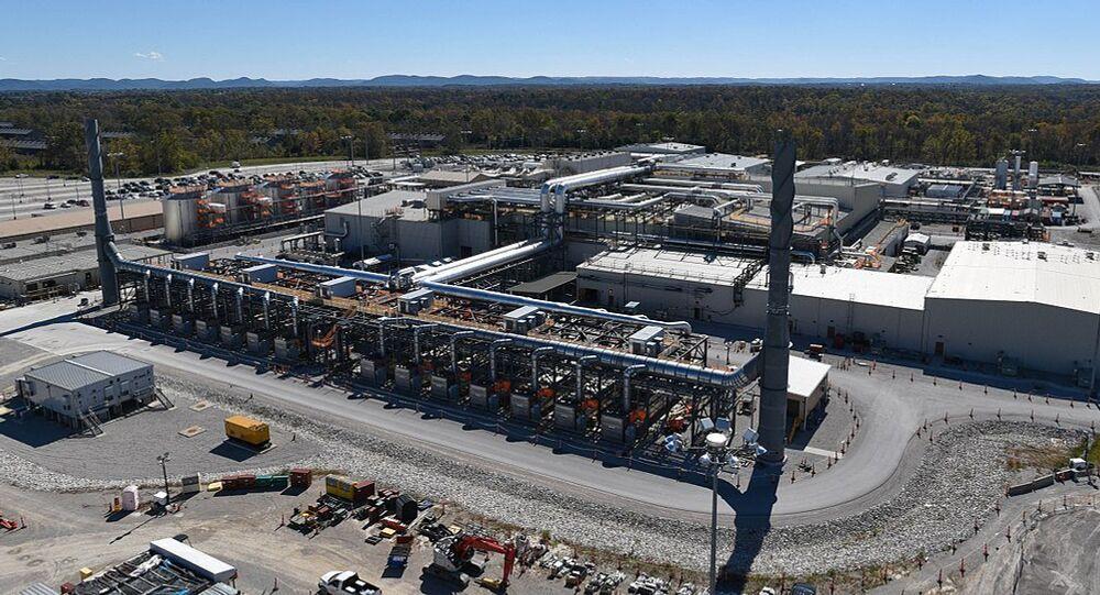 Aerial view of the Blue Grass Chemical Agent-Destruction Pilot Plant