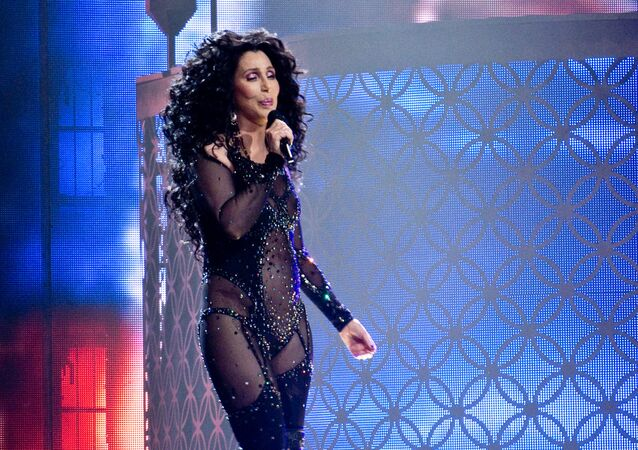 The American singer and actress, Cher.