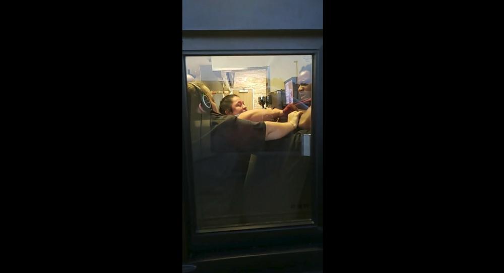 Drive-thru customer in North Carolina gets front row seat to employee brawl at Burger King