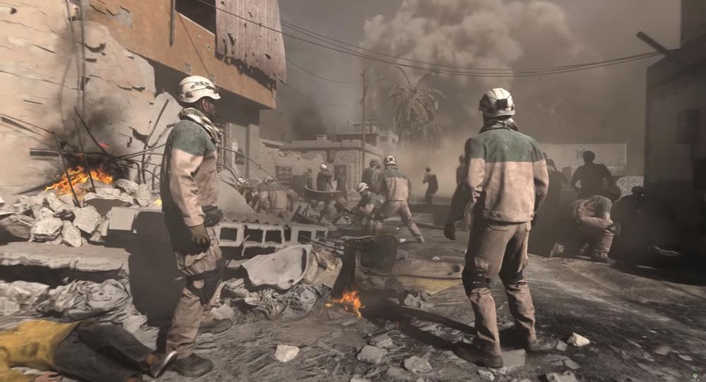 White Helmets appear in the trailer for Call of Duty: Modern Warfare