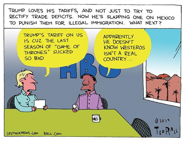 Tariff Man's Tiered Threats