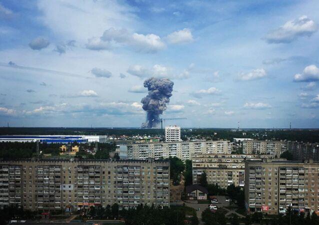 Blast Hits Kristall Explosives Plant in Russia's Dzerzhinsk