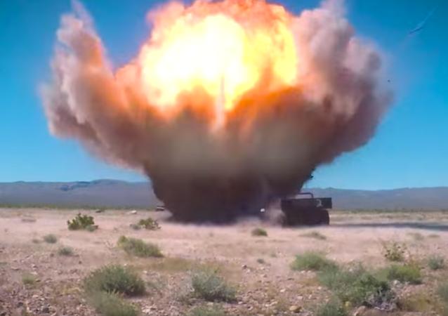 Testing of GBU-39 in Nevada