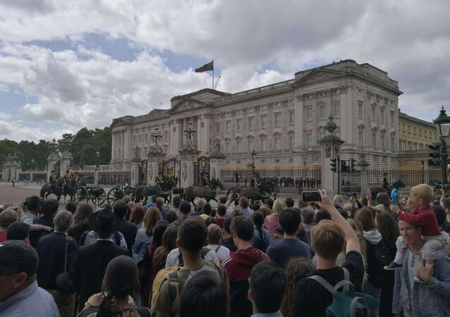 Buckingham Palace before Trump's visit