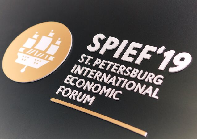 St. Petersburg International Economic Forum (SPIEF) 2019
