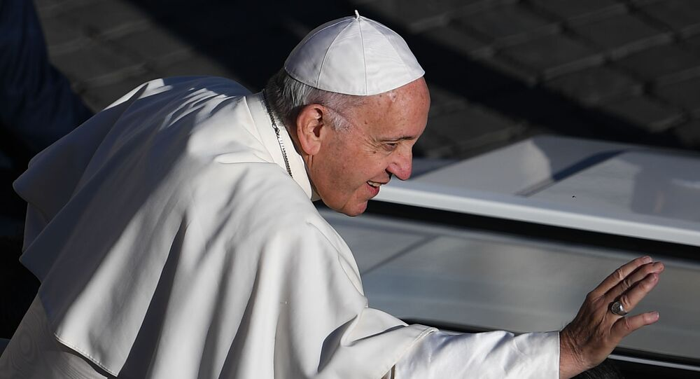 Pope Francis in Vatican, Rome