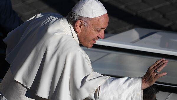 Pope Francis in Vatican, Rome - Sputnik International