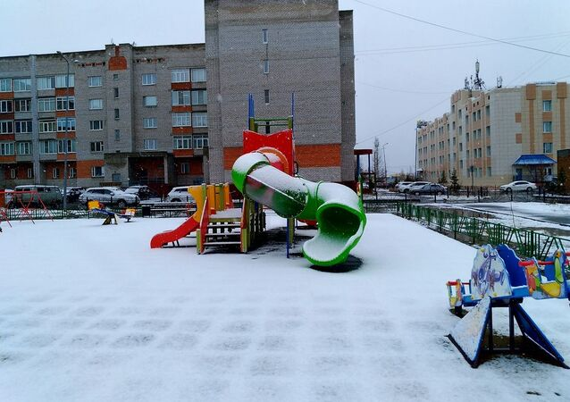 On June 5 in Labytnangi the first summer snow dropped out