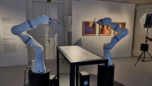 AI art exhibition at Hermitage Museum - Sputnik International