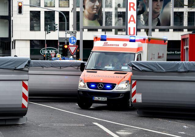 Ambulance car in Germany