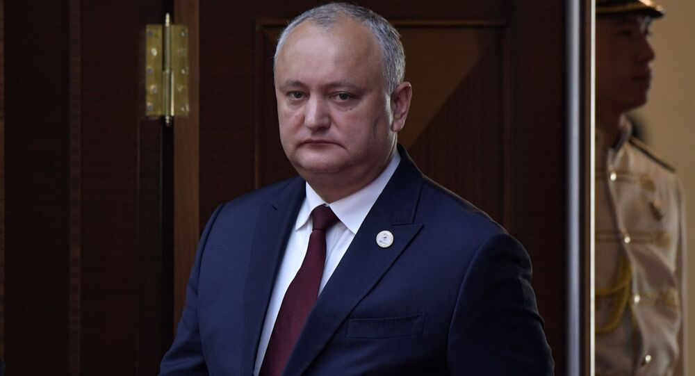 Moldavian President Igor Dodon