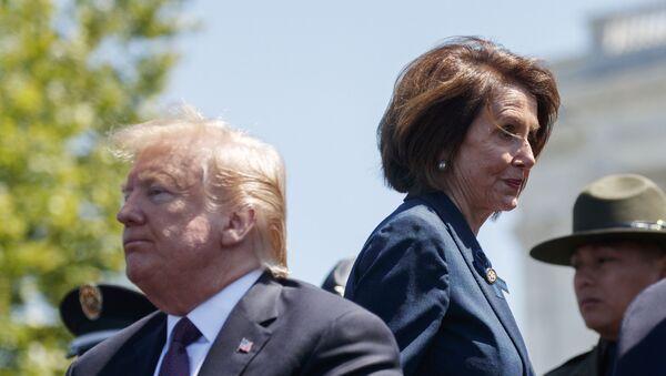 President Donald Trump and Speaker of the House Nancy Pelosi - Sputnik International