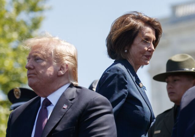 President Donald Trump and Speaker of the House Nancy Pelosi