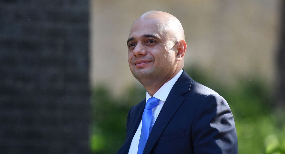 Britain's Home Secretary Sajid Javid arrives to attend the weekly meeting of the Cabinet at 10 Downing Street in central London on May 21, 2019.