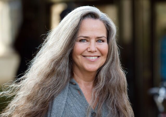 Actress Koo Stark, former girlfriend of Britain's Prince Andrew, leaves Isleworth Crown Court in Isleworth, west London, on December 21, 2012 for a hearing over the theft of a painting from a former partner. Stark, 56, an actress, photographer and artist who dated Andrew in the early 1980s, is accused of stealing a £40,000 ($65,000, 50,000-euro) artwork