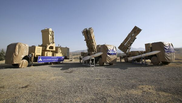 This photo released by the official website of the Iranian Defense Ministry on Sunday, June 9, 2019, shows the Khordad 15, a new surface-to-air missile battery at an undisclosed location in Iran - Sputnik International