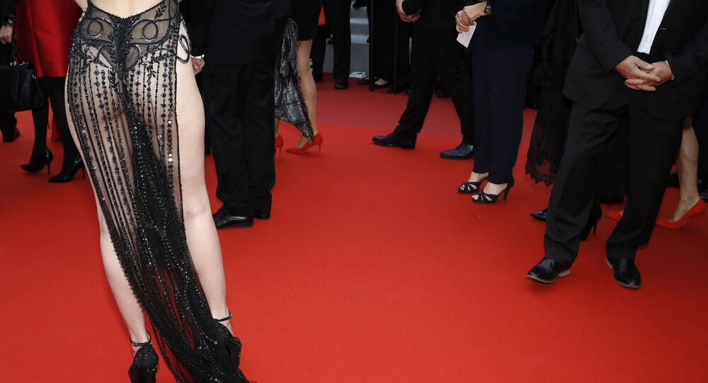 72nd Cannes Film Festival - Screening of the film A Hidden Life in competition - Red Carpet Arrivals - Cannes, France, May 19, 2019