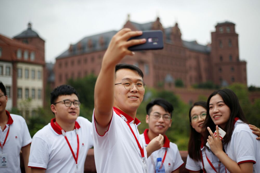 Rare Look Inside Chinese Tech Giant Huawei's New Ox Horn Campus