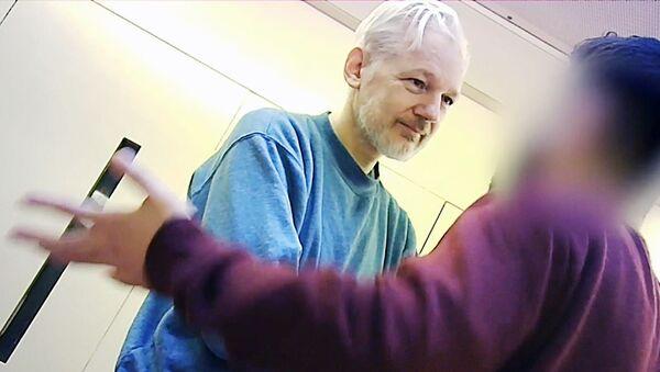 J. Assange in Prison Belmarsh in London - Sputnik International